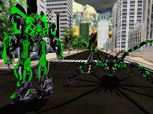 Juega Spider Robot Warrior Web Robot Spider juego