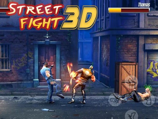 Juega Street Fight 3D juego