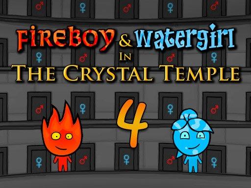 Juega Fireboy and Watergirl 4 Crystal Temple juego