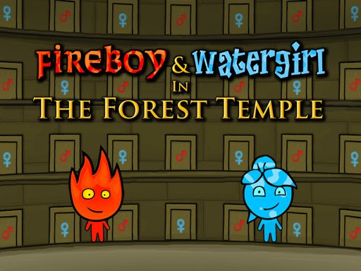 Juega Fireboy and Watergirl: Forest Temple juego