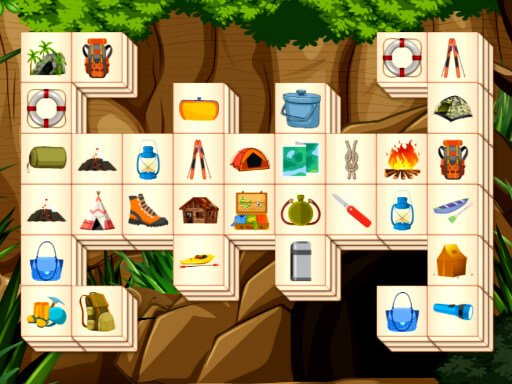 Juega Hiking Mahjong juego