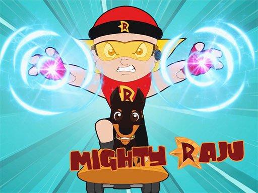 Juega Mighty Raju Adventure 3D juego