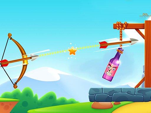 Juega Archery Bottle Shoot juego