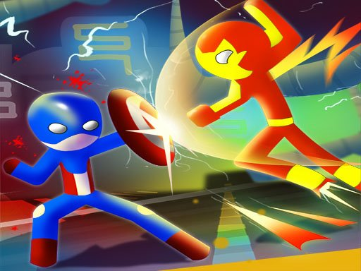 Juega Super Stickman Heroes Fight juego