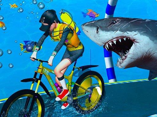Juega Underwater Bicycle Racing juego