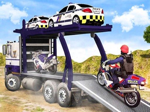 Juega Offroad Police Cargo Transport juego