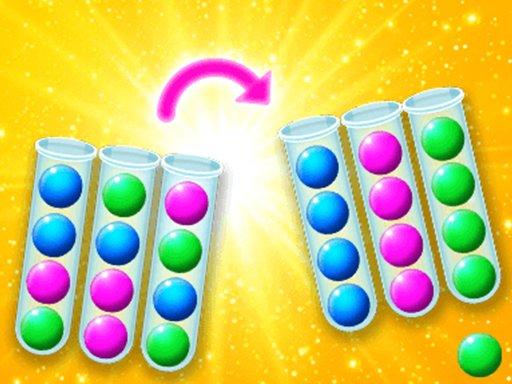 Juega Sort The Bubbles juego