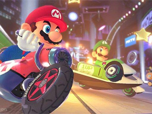 Juega Super Mario Run Race Online juego