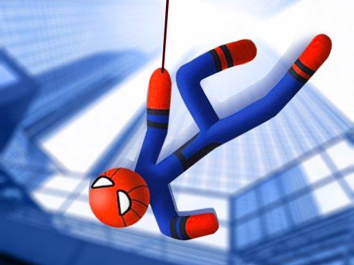 Juega Stickman Swing Rope Hero juego