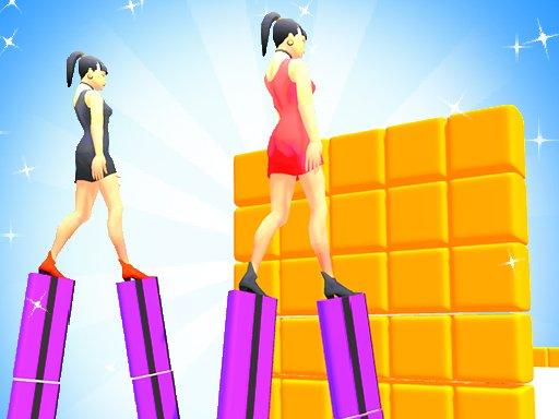 Juega Heels Run Race – Stack Rider juego
