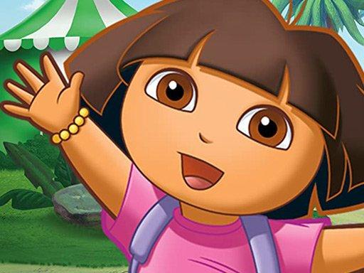 Juega Dora the Explorer Jigsaw Puzzle Collection juego