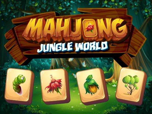 Juega Mahjong Jungle World juego