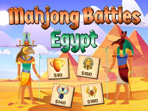 Juega Mahjong Battles Egypt juego