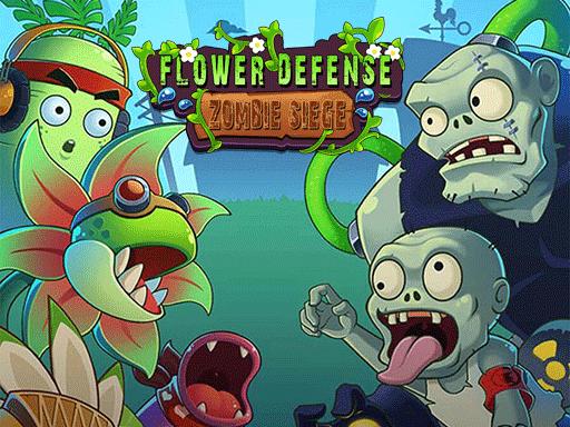 Juega Flower Defense – Zombie Siege juego
