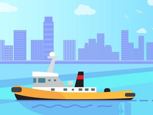 Juega Big Boats Coloring juego