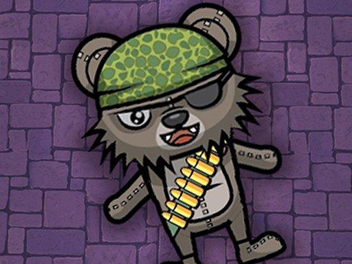 Juega Zombie Bears Night Shooting juego