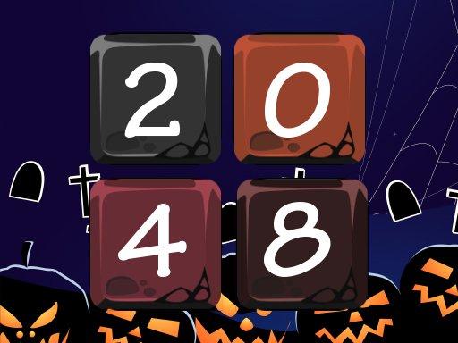 Juega Halloween 2048 juego