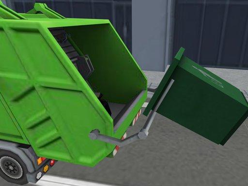 Juega Garbage Sanitation Truck juego