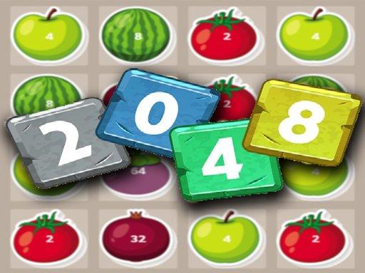 Juega 2048 Fruits juego