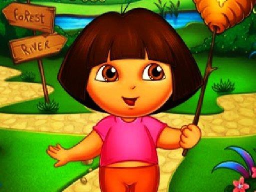 Juega Dora The Explorer Jigsaw Puzzle juego