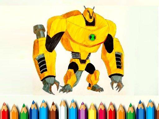 Juega Ben10 Monsters Coloring juego