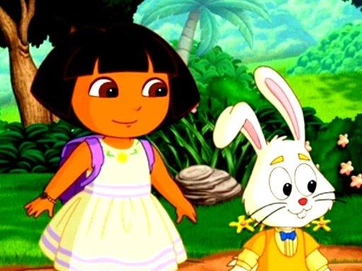 Juega Dora Happy Easter Differences juego