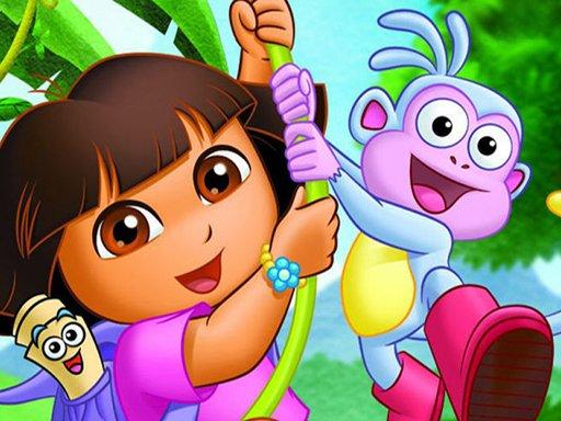 Juega Dora Spot The Difference juego