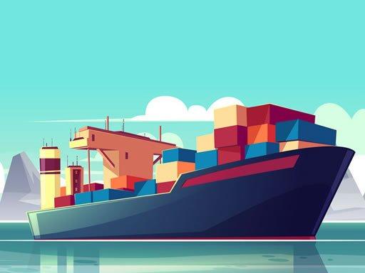Juega Cargo Ships Jigsaw juego