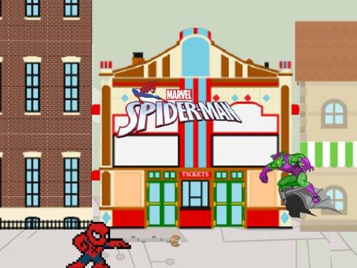 Juega Spider Man vs Goblin juego