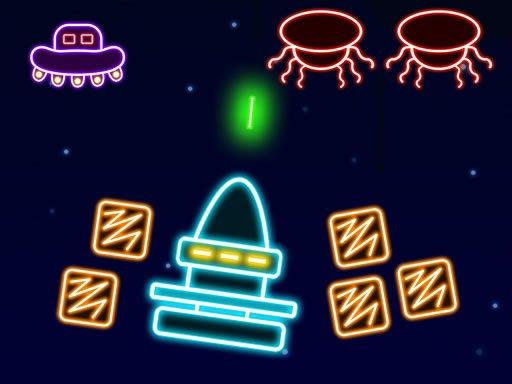 Juega Neon Invaders juego