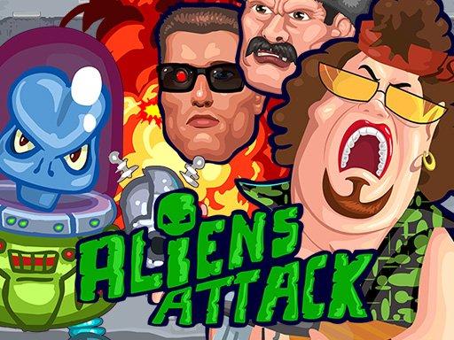 Juega Aliens Attack juego