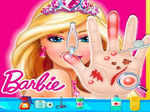 Juega Barbie Hand Doctor: Fun juego