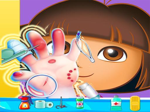 Juega Dora Hand Doctor Fun juego