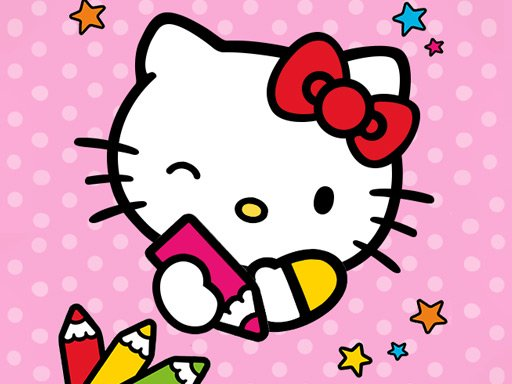 Juega Color By Number With Hello Kitty juego
