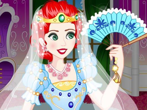 Juega Brave Princess Wedding Dress up juego