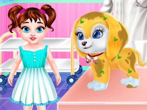 Juega Baby Taylor Puppy Care juego