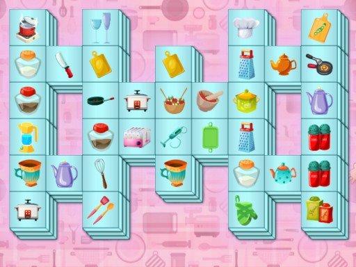 Juega Kitchen Mahjong juego