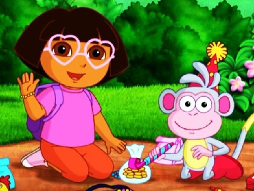 Juega Dora Kids Puzzles juego