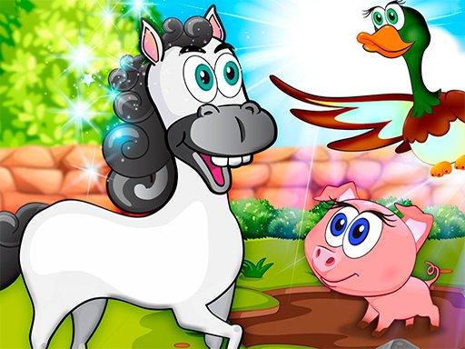 Juega Learning Farm Animals: Educational juego