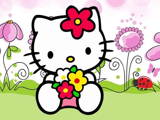 Juega Hello Kitty Jigsaw juego