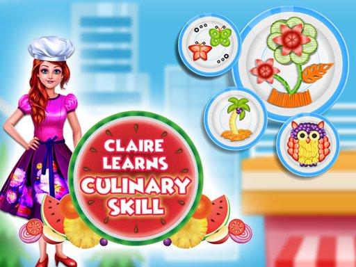 Juega Claire Learns Culinary Skills juego