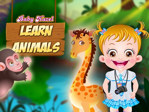 Juega Baby Hazel Learn Animals juego