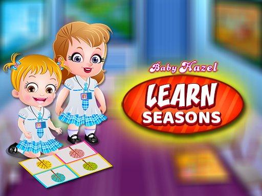 Juega Baby Hazel Learn Season juego