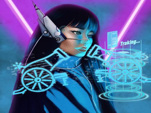 Juega Neon Cyber Cannon juego