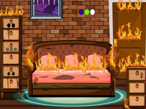 Juega Fired House Escape juego