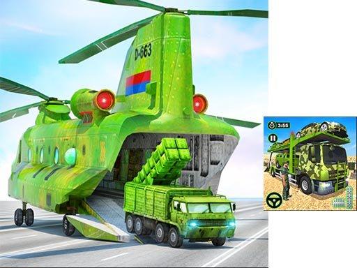 Juega US Army Cargo Transport Truck Driving juego