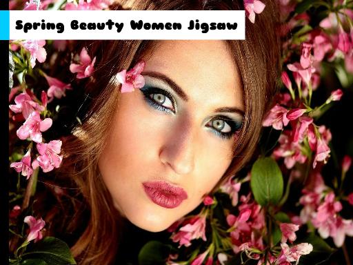 Juega Spring Beauty Women Jigsaw juego