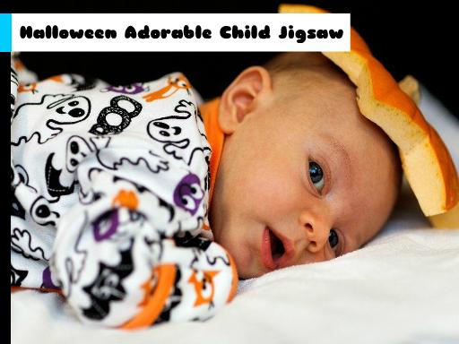 Juega Halloween Adorable Child Jigsaw juego