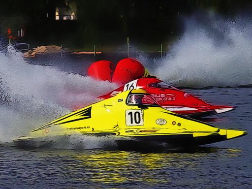 Juega Motor Racing Boat juego
