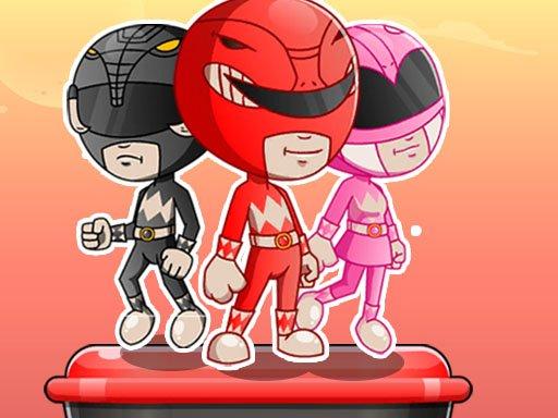 Juega Power Rangers Adventure Dash juego